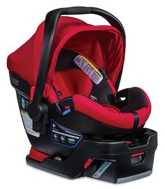 Project Nursery - Britax B-Safe 35 Elite Infant Car Seat in Red