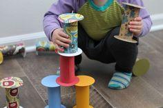 トイレットペーパーの芯を可愛すぎる子供のおもちゃにリメイク♡ | WEBOO[ウィーブー] おしゃれな大人のライフスタイルマガジン
