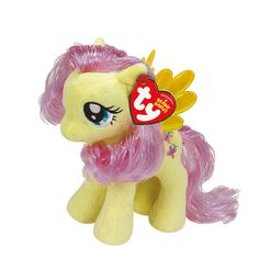 """<P>This cute and colorful Fluttershy My Little Pony Ty Beanie Babies plush toy is perfect for your equestria collection</P><P><STRONG>Plush Toy</STRONG> by <STRONG>Ty</STRONG></P><UL><LI>Suitable for children aged 3+ <LI>Dimensions: H 16cm/6""""</LI></UL><P></P>"""