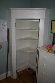 Corner Closet For Angled Walls In Katies Room I Could Even Fit A