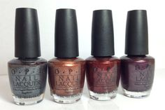 Shipping is 2.50 for the first polish and .50 for each additional US only. Opi $4 each lucerne-tainly look marvelous, Brisbane bronze, Romeo & Joliet, vampsterdam