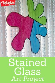 A colorful craft to brighten up any room in the house!