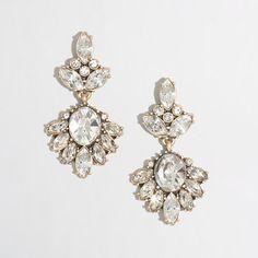 J.Crew Factory - Factory dangling crystal pendant earrings
