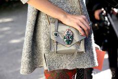 Shourouk bag# street style