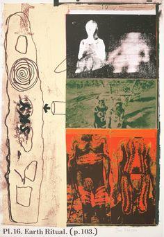 joe tilson - earth ritual, 1972