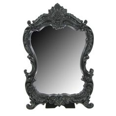 Mirror with Black Resin Scroll Frame | Shop Hobby Lobby