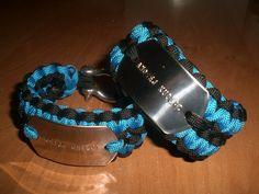 Bracelets with dog tags