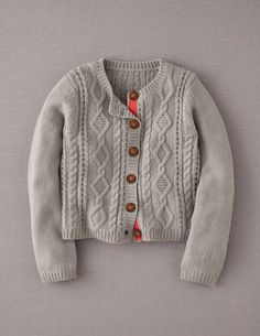 Mini Boden Cosy Cable Cardigan