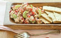 Honey Mustard Salmon Salad