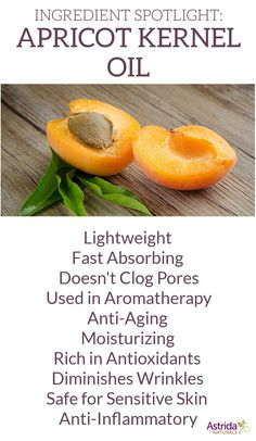 Some of the benefits of Apricot Kernel Oil, a primary ingredient in a lot of Posh products!