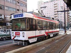 Japanese tram