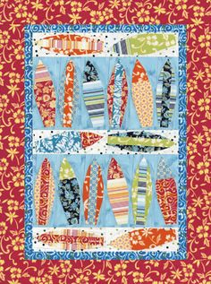 Surf's Up Quilt Pattern