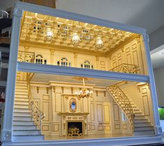 Ken Haseltine Regent Miniatures gorgeous scale House Just absolutely beautiful Miniature Rooms, Miniature Houses, Doll Furniture, Dollhouse Furniture, Diy Dollhouse, Dollhouse Miniatures, Dollhouse Design, Victorian Dollhouse, Miniatures