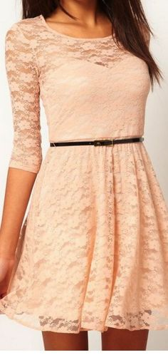 still completely adore this style of dress. I'm sure i've pinned it before in other colors but I love it so much!