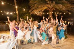 Lauren and Jake wanted both the ceremony and the reception to be outside, so they chose 'AMA'AMA Patio and Rainbow Reef!