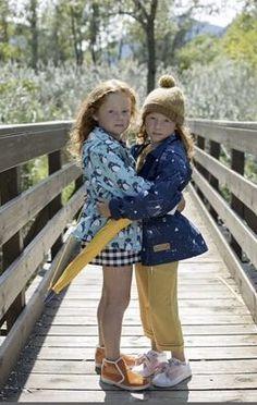 Lea & Jojo Pingouins and Mountains patterned Raincoats Raincoat, Hipster, Mountains, Pattern, Kids, Collection, Style, Fashion, Rain Jacket