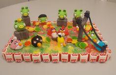 Minha criação feito de balas e Marshmallows, Angry Birds
