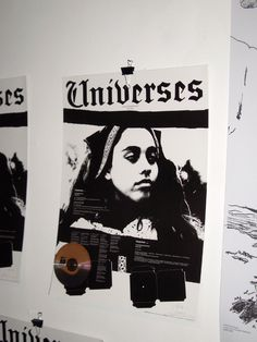 Universes – (music of the movie…) A project by Joseph Dadoune.  Poster + CD editions 500 signed by artistes: