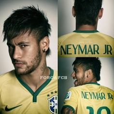 Fifa World cup Brasil! Fifa World cup 2014 Soccer Stars, Football Soccer, Football Things, Fifa, Real Madrid, Brazilian Soccer Players, Soccer Hair, Mens World Cup, Neymar Brazil