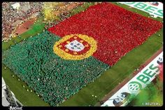 Portugal Human Flag