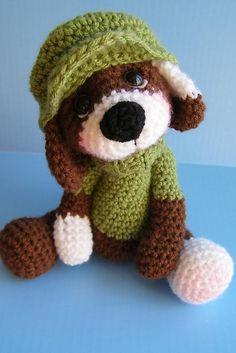 Ravelry: Simply Cute Dog Toy pattern by Teri Crews
