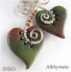 The Beading Gem's Journal: Wire Work and Polymer Clay Pictorial and Inspirations