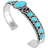 Amazon.com: Made in the USA by Navajo Artist Harry Spencer: Beautiful! Sterling-silver Genuine Turquoise Womens Bracelet: Turquoise Sleeping Beauty: Jewelry