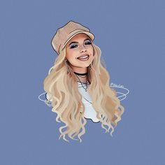 Ok this is an outline of Loren Gray but I like it ...