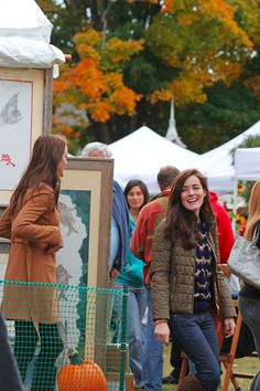 Preppy Outfits, Preppy Clothes, Sarah Vickers, Southern Curls And Pearls, Fox Sweater, Preppy Fall, Classy Girl, Art Festival, Girls Wear
