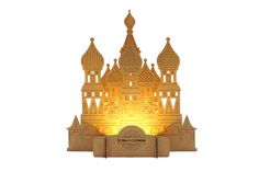 FUNNYFISH Craft Lights - St. Basil's Cathedral