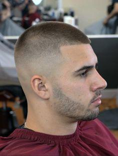 also nice stubble Buzz Cut For Men, Buzz Cut With Beard, Buzz Cuts, Best Short Haircuts, Cool Haircuts, Hairstyles Haircuts, Haircuts For Men, Corte Fade, Short Hair Cuts