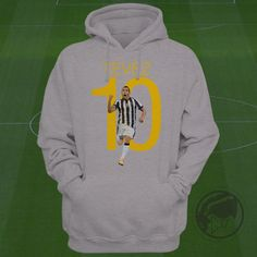 Tevez 10 Hoodie - Carlos Tevez Sweatshirt - Size S to Xxl -Custom Apparel Serie A, Juventus sweatshirt, Juve hoodie, tevez clothing by Graphics17 on Etsy