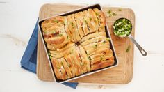 For a crowd-pleasing appetizer, make this incredible cheesy bacon and onion pull-apart bread!