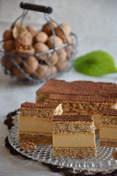 Cake Bars, Polish Recipes, High Tea, Cheesecakes, Beautiful Cakes, Tiramisu, Food And Drink, Sweets, Cookies
