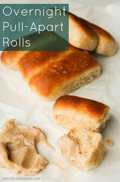 Overnight Pull-Apart Rolls: Just a little recipe to make your life a lot easier come Thanksgiving Day. www.the-taste-tester.com