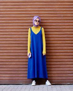 """6,805 Beğenme, 170 Yorum - Instagram'da MAHZA🍓 (@aybukenurdemirci): """"Tam ne giysem diye düşünürken kurtarıcım @mevra_official ❤️ güzel bi sorum var 🐣 en çok nereye…"""" #hijabioutfitscasual Modest Fashion, Hijab Fashion, Hijab Chic, Tan Dresses, Mode Hijab, Hijab Outfit, Muslim Women, Belted Dress, Boho Dress"""
