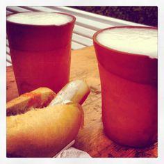 Cerveza y Perrito medieval