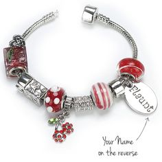 I Just Love It Cherry Charm Bracelet - Cherry Charm Cherry Charm Bracelet - Cherry Charm - Gift Details. A wonderful gift for any dedicated follower of fashion. A beautiful silver plated charm bracelet with a variety of eye-catching beads and charms to http://www.MightGet.com/january-2017-11/i-just-love-it-cherry-charm-bracelet--cherry-charm.asp
