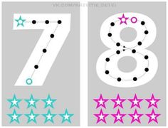 Estupenda manualidad para aprender el trazo de los números (6) Preschool Names, Preschool Worksheets, Preschool Activities, Math For Kids, Diy For Kids, Lacing Cards, Early Childhood Education, Fine Motor Skills, Art Education