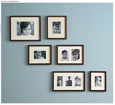 Gallery In A Box Black Frames Set Of 6