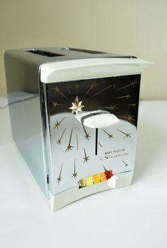 Retro Starflite Toaster ProctorSilex  Atomic by GoodSoulVintageMI, $85.00