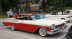 1957 Mercury Turnpike Cruiser 4 door hardtop My Dad bought one just like color and all. I was 17 at the time and drove beautiful car all the time. On dates cruising between the two hangouts. The High Hat and Duck In. To ball games and all around Middle Tennessee. These were good times