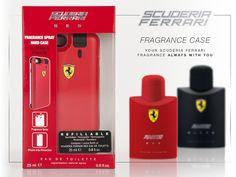 #ScuderiaFerrari #Fragrancecase protegge il tuo iPhone 6 e 6S. Ma non è tutto. Le fragrance Scuderia Ferrari saranno sempre con te. In qualsiasi momento della giornata ovunque tu sia.