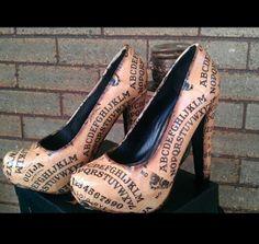 Ouija Board heels