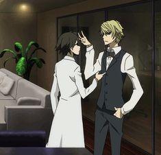 oh gods why am i laughing at it Durarara!! Shizuo, Shinra