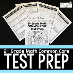 About this resource : This resource provides you with 19 pages of Common Core test prep! There are two versions included : one multiple choice (selected response) and one student response (open ended). Both versions include the same questions and both include constructed (longer) response questions.