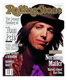 Rolling Stone Cover of Tom Petty, Rolling Stone Cover by Mark Seliger Rolling Stones, Like A Rolling Stone, Tom Petty, Beatles, Rolling Stone Magazine Cover, Dr Hook, Travelling Wilburys, Music Magazines, Vintage Magazines