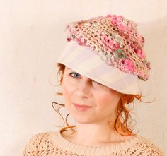 Hey, I found this really awesome Etsy listing at https://www.etsy.com/listing/123831593/woman-hat-crochet-pink-woman-hat-knit