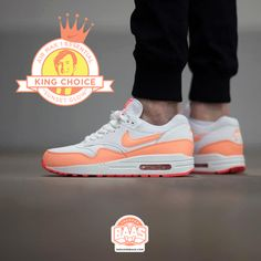 """#nike #airmaxone #airmax1 #am1essentials #sneakerbaas #baasbovenbaas  Nike Air Max 1 Essentials """"Sunset Glow"""" - Now available online, priced at € 134,99 - Last sizes!  For more info about your order please send an e-mail to webshop #sneakerbaas.com!"""