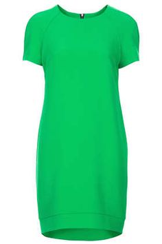 Crepe Tee Shift Dress - Dresses  - Clothing